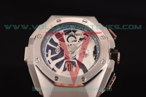 Audemars Piguet Royal Oak Concept Laptimer Michael Schumacher Limited Edition Quartz Skeleton Dial with Steel Case - 26221FT.OO.D002CA.04TS